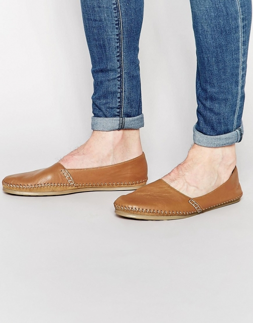 Frank Wright Leather Espadrille
