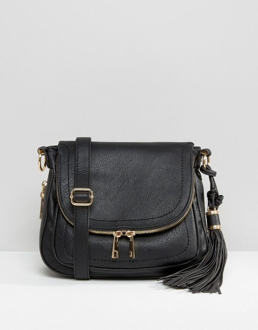 Aldo Cross Body Saddle Bag