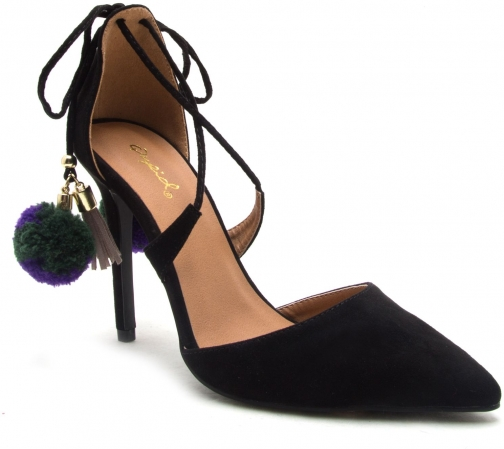 Qupid Milia Back Court Shoe Tie