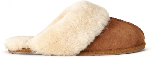 Jigsaw Sheepskin Mule Slipper