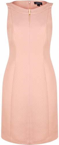 House Of Fraser Tahari ASL Blush Jacquard Dress