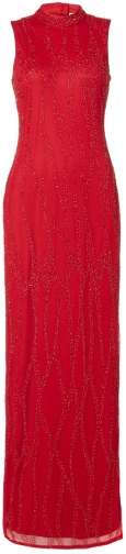 House Of Fraser RAISHMA High Slim Embroidered Maxi Collar