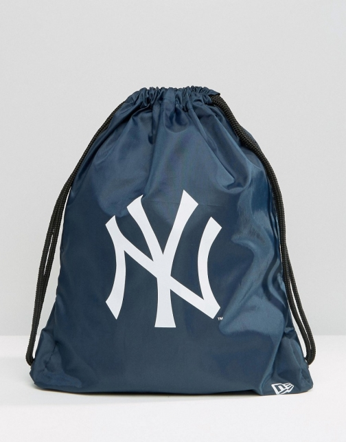 New Era NY Drawstring Backpack