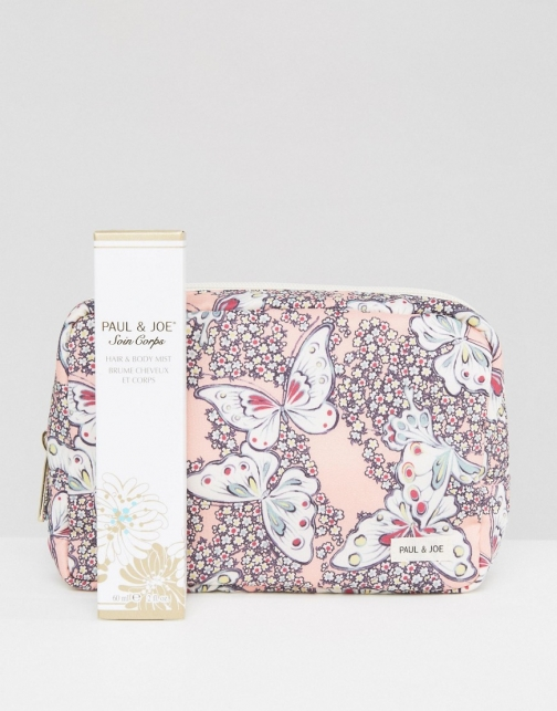 Paul & Joe Exclusive Hair & Body Mist Set With FREE Make Up Bag