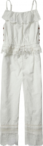 Scotch R'belle Girls Cotton Jumpsuit