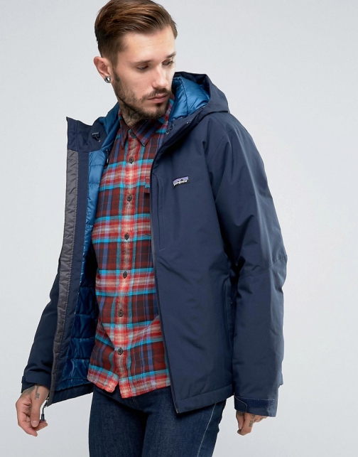 Patagonia Windsweep Down Navy Parka
