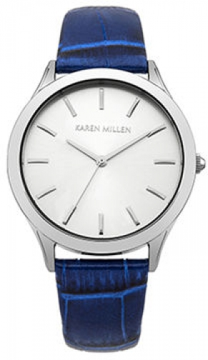 Karen Millen Solid Steel And Croc Effe Case