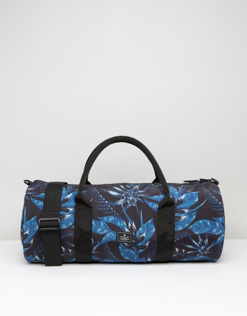Asos Barrel With Floral Print Bag