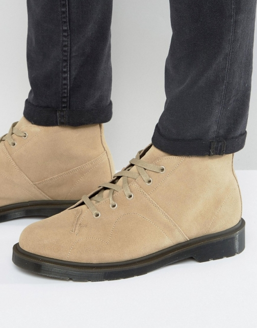 Dr Martens Church Beige Suede Boot