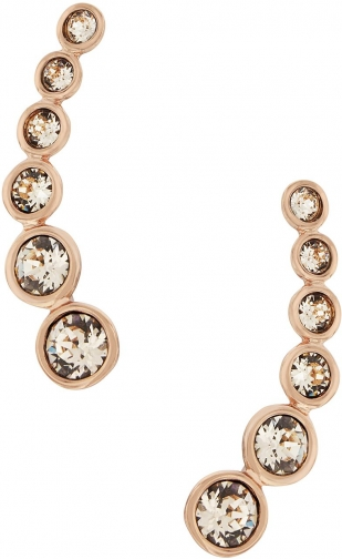 Aurora Rose Gold Plated Crystal Earring
