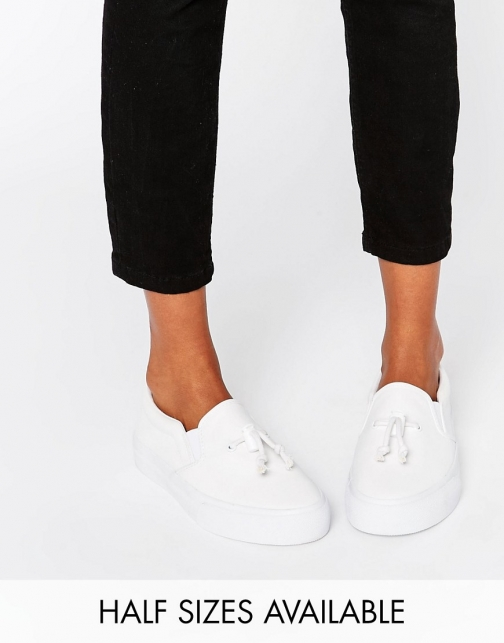 Asos DONGLE Slip On Toggle Trainer