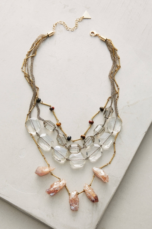Anthropologie Selma Layered Necklace