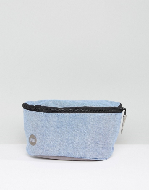 Mi-pac Bum Chambray Blue Bag
