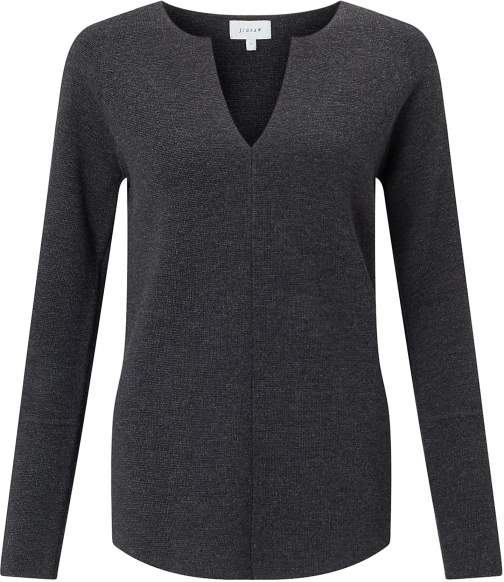 Jigsaw Merino Slit Neck Jumper