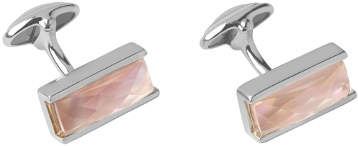 Links Of London Pink Mother Of Pearl Doublet Cufflink