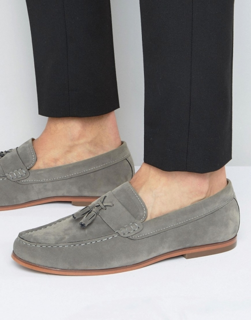 Lambretta Tassel Grey Loafer