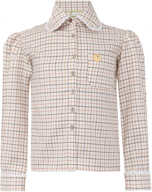 House Of Fraser Star51 Girls: Joanna`s Country Tan Shirt