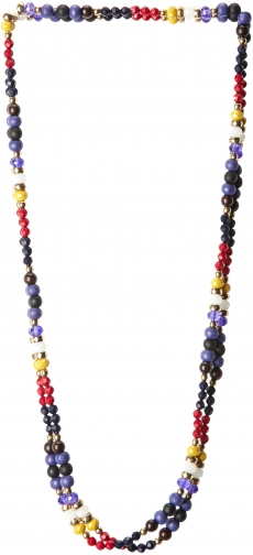 White Stuff Silk Road Bead Necklace