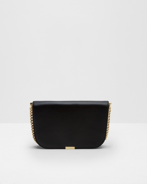 Ted Baker Leather Shoulder Black Bag