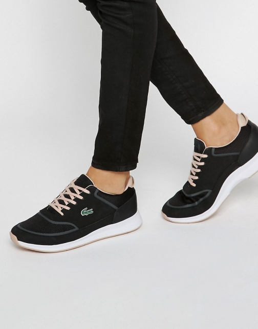 Lacoste Chaumont Leather & Mesh Trainer