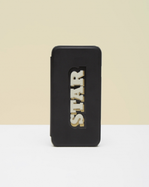 Ted Baker Star IPhone Black Case