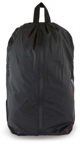 Rains Mens RAINS Black Day , Black Bag