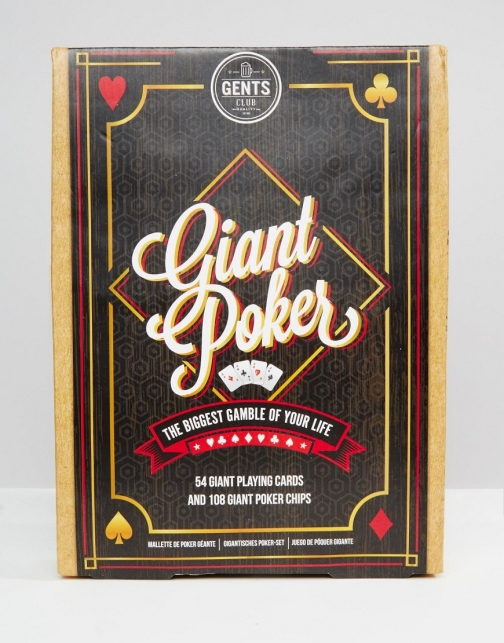 Asos Giant Poker Set Accessorie