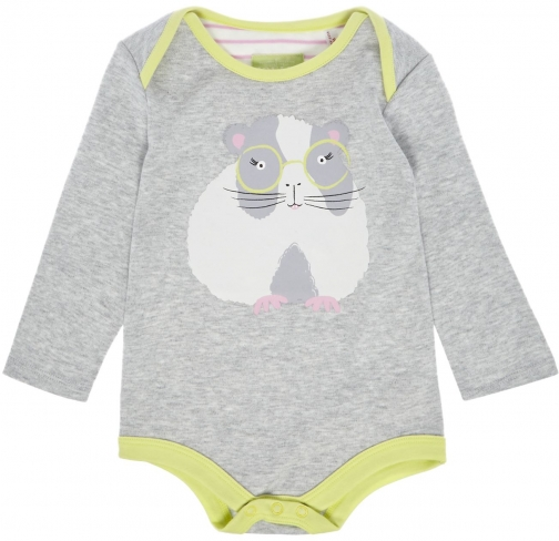 Joules Baby Girl Bodysuit Pig All One Clothing
