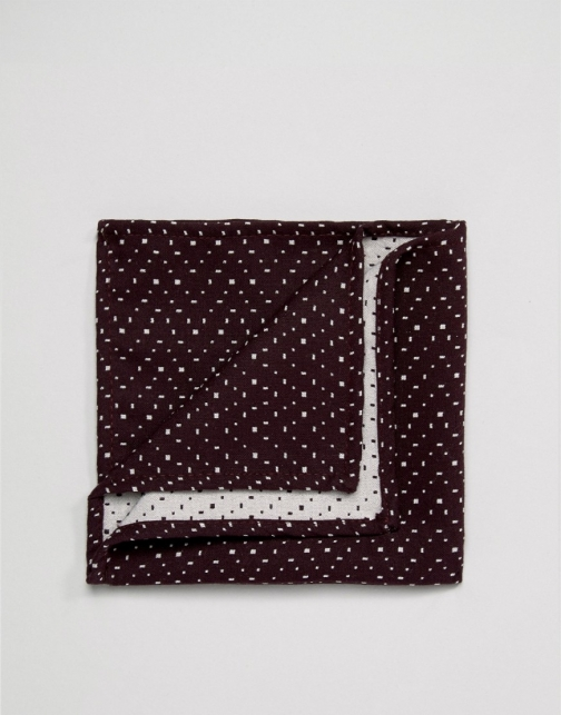 Asos Speckle Design Pocket Square