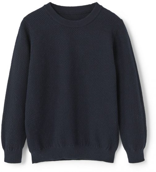 Mango Boys Textured Cotton-blend Sweater Clothing
