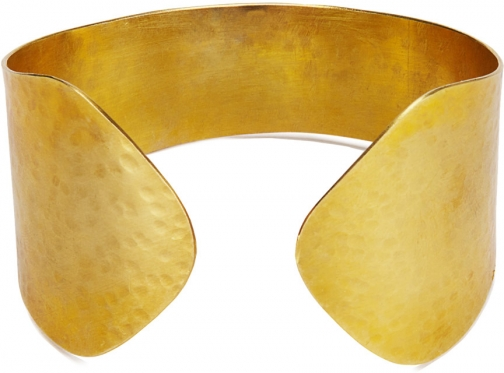 Jigsaw Made Hammered Wide Cuff Accessorie