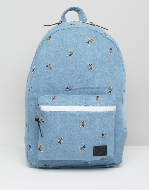 Asos Herschel Quickstrike Mickey Mouse Settlement Backpack