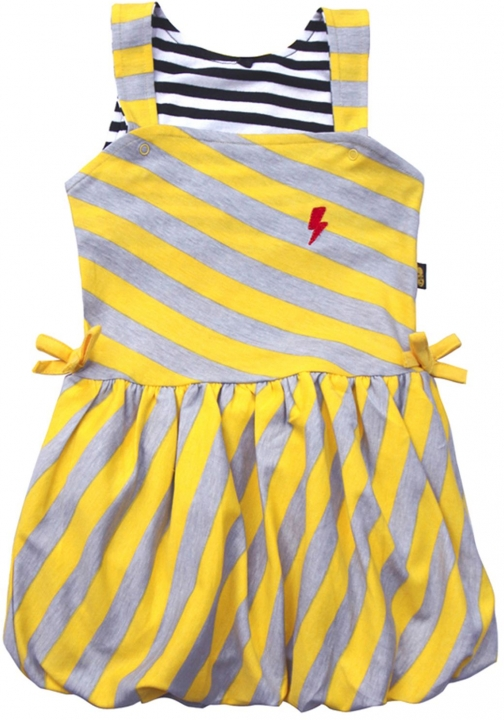 Rockabye Baby Baby Girls Diagonal Puffball Dress
