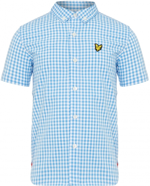 Lyle And Scott Boys Gingham Check Shirt