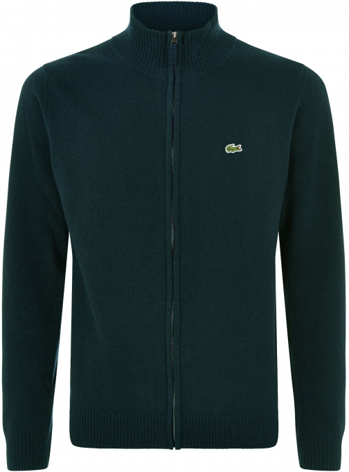 Lacoste Men's Lacoste Full Zip High Collar Sweater Clothing