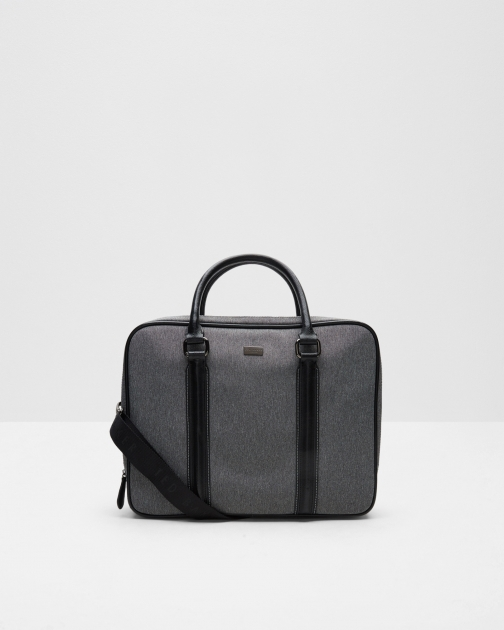 Ted Baker Nylon Document Grey Bag