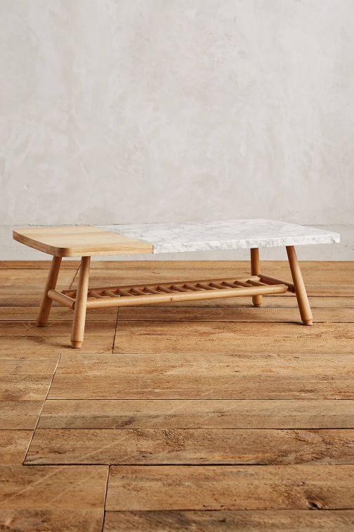 Anthropologie Hollyton Coffee Table, Rectangle Accessorie
