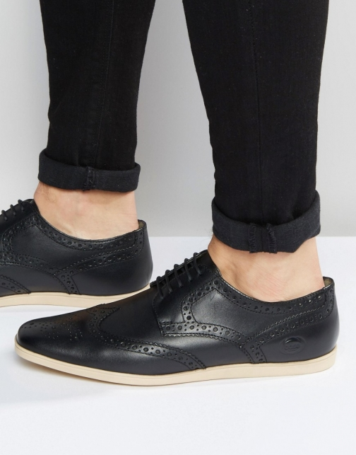 Base London Shore Leather Shoe Brogue