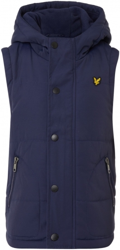 Lyle And Scott Boys Padded With Hooded Gilet