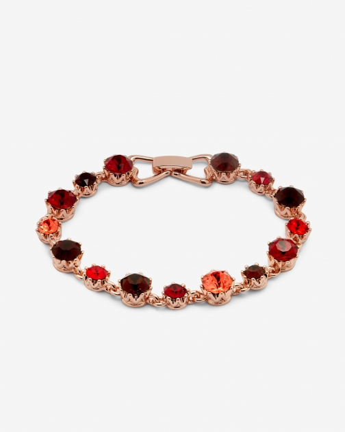 Ted Baker Crystal Dark Red Bracelet