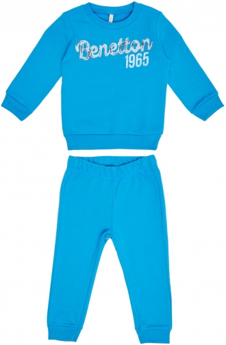 Benetton Boys Sweat Set Tracksuit
