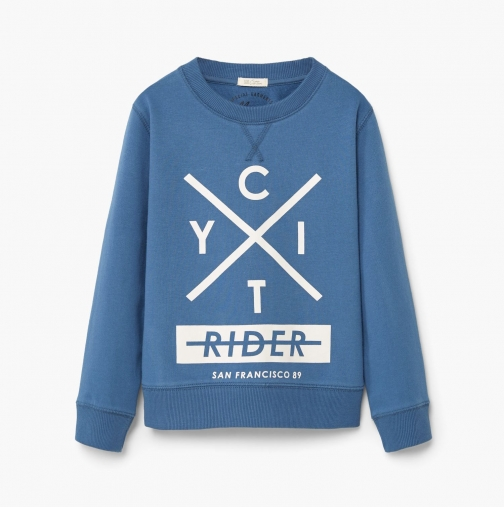 Mango Boys Cotton Sweatshirt