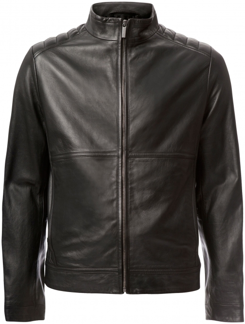 Calvin Klein Men's Calvin Klein Leam Leather Jacket