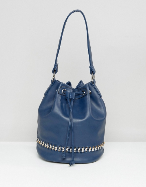 Asos Yoki Chain Detail Shoulder Bag