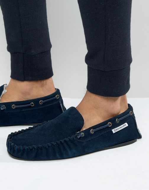 Lambretta Navy Slipper