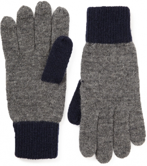 Jigsaw Colourblock Knitted Glove