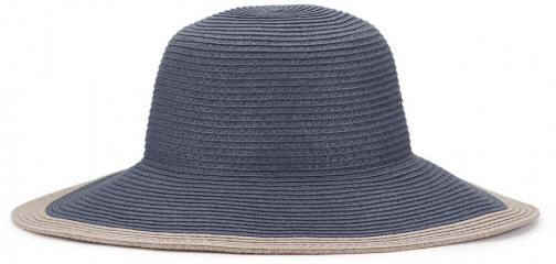 Jigsaw Contrast Edge Floppy Hat