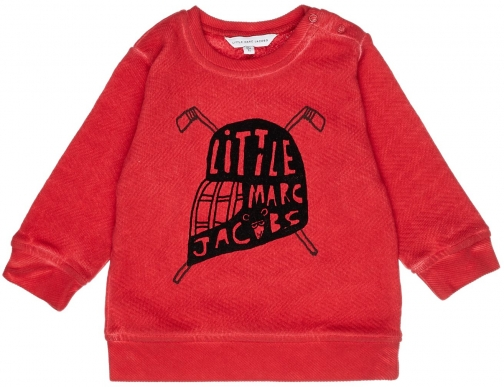 Little Marc Jacobs Baby Boys Sweater Fleece