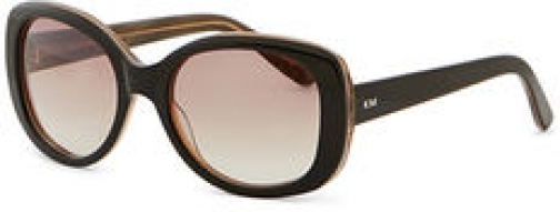 Karen Millen Black Square-Frame Sunglasses