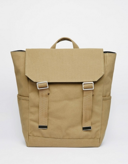 Asos With Military Styling Backpack